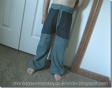 upcycled pre school lounge pants (2)