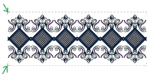 Art Deco Cutwork, design #20