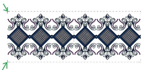 Art Deco Cutwork, design #20