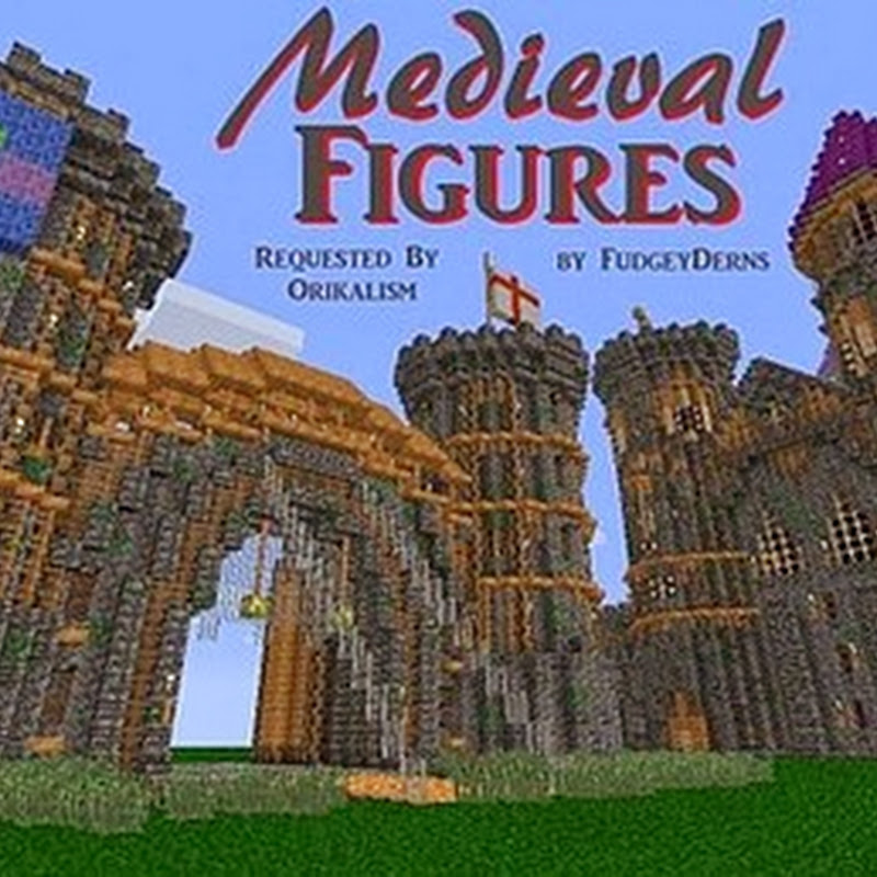 Minecraft 1.6.2 - FudgeyDerns' Medieval Figures 16x
