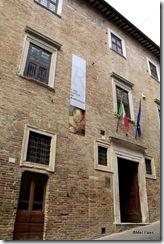 Casa onde nasceu o pintor Rafael
