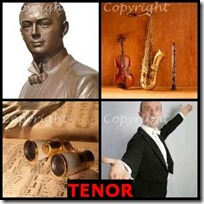 TENOR- 4 Pics 1 Word Answers 3 Letters