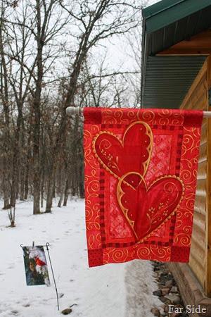 Valentine Flag
