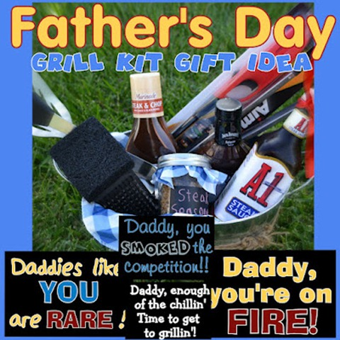 FATHEr grilling gift idea