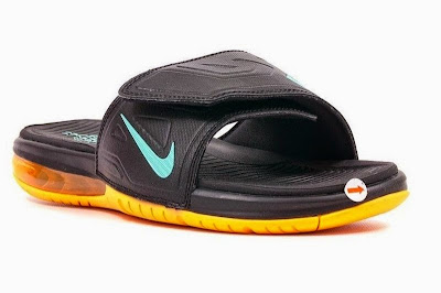 nike air lebron slide 3 peach 1 03 Nike Air LeBron Slide 3 Elite   Black / Peach Cream