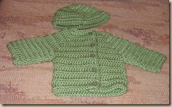 Sage sweater set