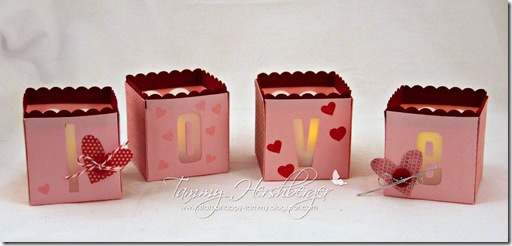 MFT Valentine tea lights