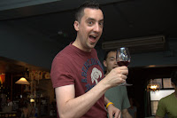 Gerrod and wine