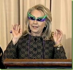 hillary winged sunglasses