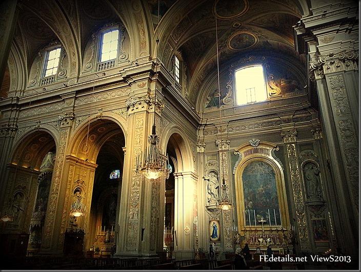 Cattedrale di San Giorgio interno 1, Ferrara, Italia - St. George's Cathedral interior 1, Ferrara, Italy