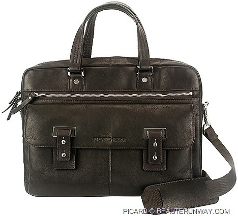 PICARD SPRING SUMMER 2012 MENS LEATHER BAGS Wildlife briefcase, working bag, totes sling accessories, wallet card holder travel