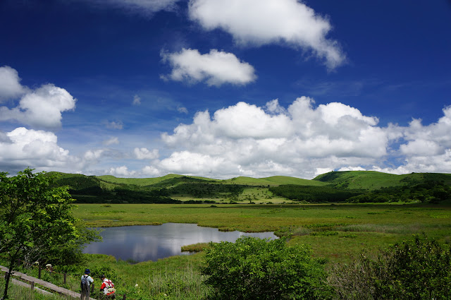 八島湿原。ここも開放感がすばらしかった
