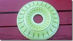 green metallic medallion 4