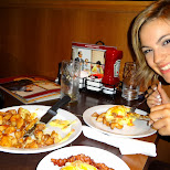 after party eats in Vancouver, British Columbia, Canada