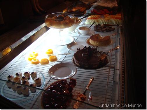 Sobremesas Noite Italiana Hotel Bella Italia BlogTurFoz Foz do Iguaçu