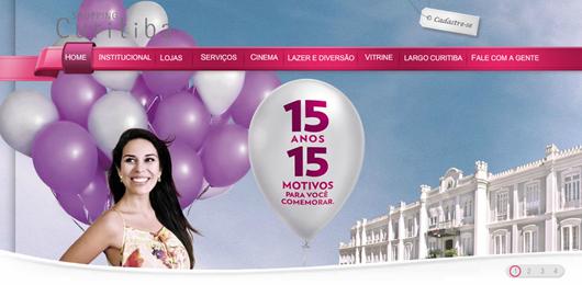 Shopping Curitiba - 15 anos