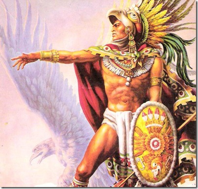 caballero aguila oleo sobre lienzo año 1956 jose helguera pintor mexicano