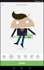 Androidify تطبيق عمل شخصيات كارتونية أندرويد Avatars - 4