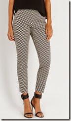 Oasis Geo Club Print Trouser