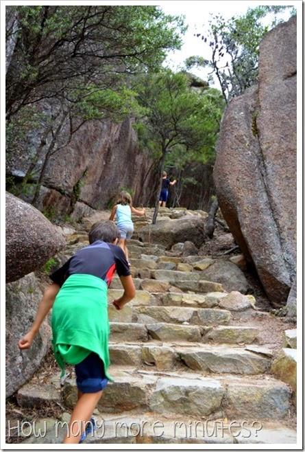 How Many More Minutes? ~ Wineglass Bay at Freycinet National Park