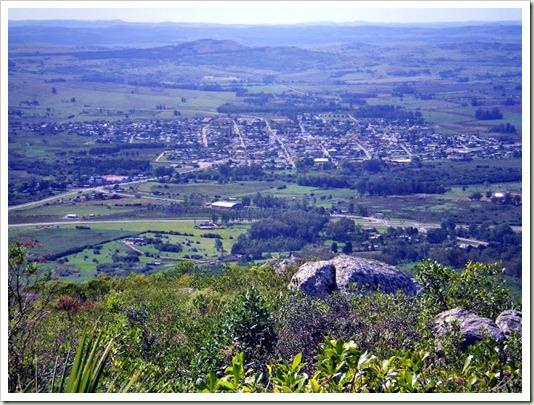 Vista Pan de Azúcar desde el cerro