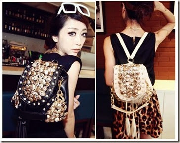 SY 606 (204.000) - PU Leather, 21 x 30 x 15, ransel + selempang