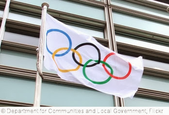 'Olympic flag flying outside Eland House' photo (c) 2012, Department for Communities and Local Government - license: http://creativecommons.org/licenses/by-nd/2.0/