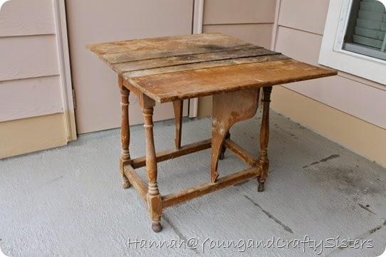 side table redo 7