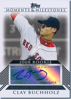 2008 Moments and Milestones Buchholz RC Auto