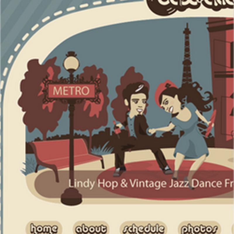 29 diseños de sitios web con dibujos creativos