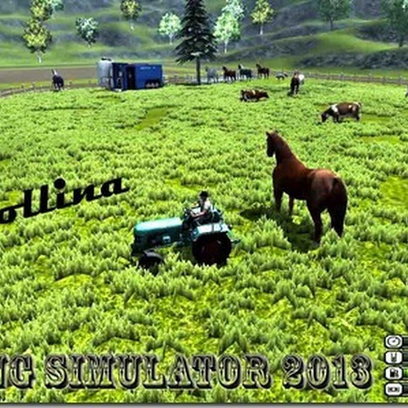 Farming simulator 2013 - la Collina Mappa