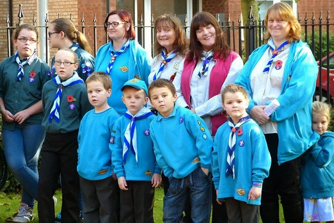 Remembrance Day, Beavers