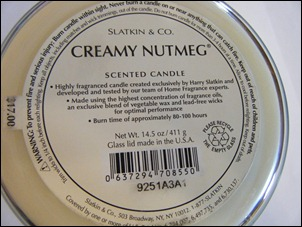 Slatkin & Co. Creamy Nutmeg