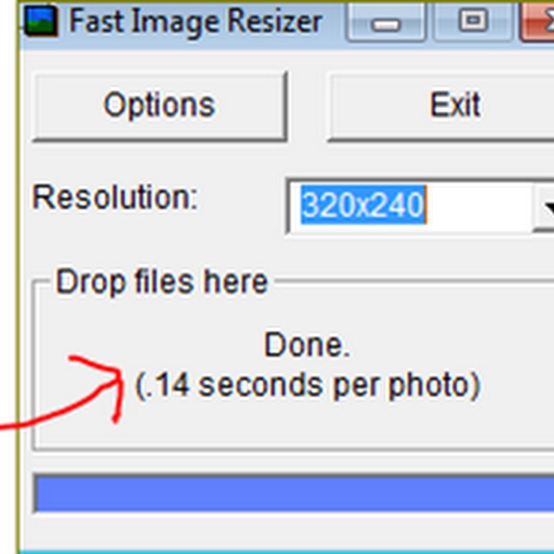 ย่อขนาดรูปภาพแบบฉับไวกับ FAST IMAGE RESIZER V0.98