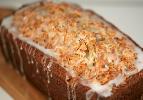 coconut banana bread 1