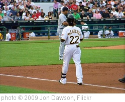 'Andrew McCutchen at 1st' photo (c) 2009, Jon Dawson - license: http://creativecommons.org/licenses/by-nd/2.0/