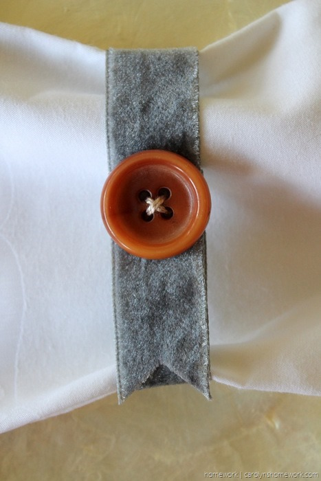 Vintage Button Napkin Ring via homework - carolynshomework (2)