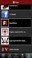 Screenshot of FC Rapid Bucuresti Oficial