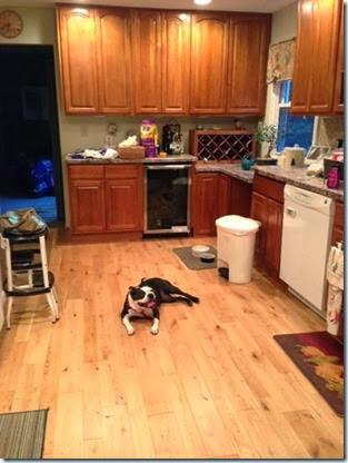 maddie in kitchen