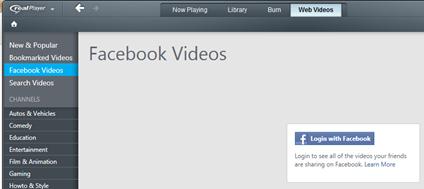 ดาวน์โหลดวีดีโอจาก facebook ด้วย realplayer