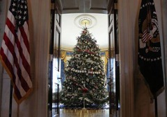 christmasa white house