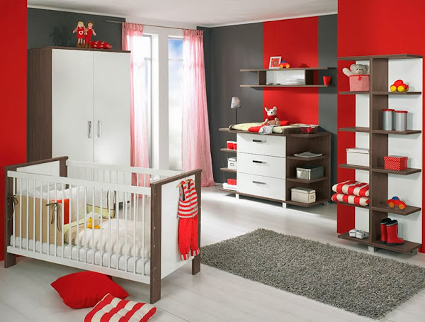 Modern Baby Room Plan Attractive1 Baby Room Ideas