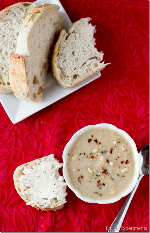 Easy Roasted Cauliflower Soup