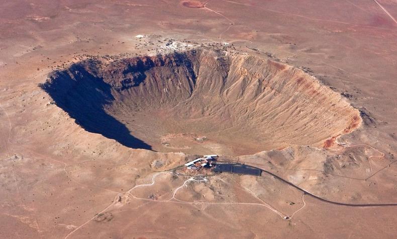 Аризонский метеорит