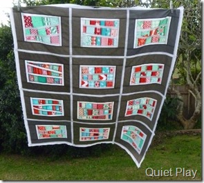 Hard to photograph quilts in windy weather