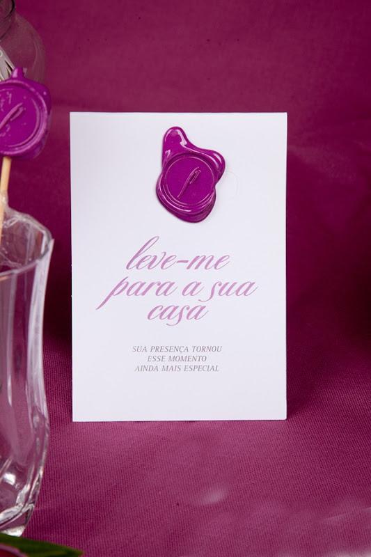 patit convite aniversário identidade personalizado rosa lacre de cera IMG_3822 (19)