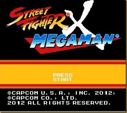 STREET FIGHTER x MEGA MAN タイトル
