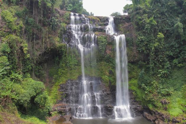 Bolavan Plateau's Tad Gneung Waterfall, Laos