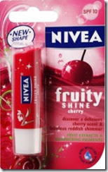 Amazon ; Buy Nivea Lip Care Fruity Shine Cherry, 4.8g at Rs 120 only