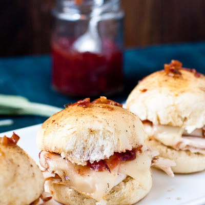 Baked Turkey & Cranberry Sliders